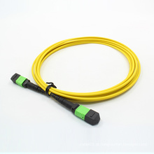 MTP / MPO Singlemode 24cores Patchcord de fibra óptica