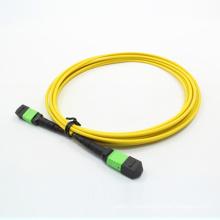 Кассет MTP/mpo Однорежимное 24cores patchcord оптического волокна