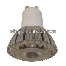 China Zinc alloy LED ceiling lamp tube casting housing