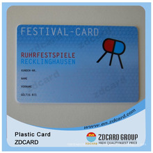 Mitgliedskarte / Prepaid Card / Barcode / PVC Card / Plastikkarte