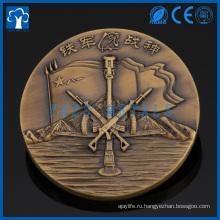 Изготовленный на заказ латунь металла 3D монета