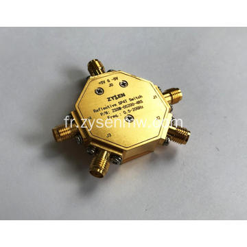Commutateur de diode à broche 0,5-20 GHz SP4T