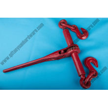 Painted Red Ratchet Type Load Binder