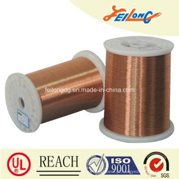 Esmaltados de cobre revestido de alumínio fio redondo, esmaltado CCA fio redondo