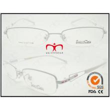 Lunettes de lecture en métal à la mode à lunettes 2015 à la mode (WRM410003)