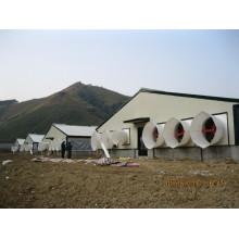 Vertedero de cerdo de estructura de acero para personalizar (PCH-13)