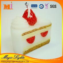 Bougie d'anniversaire belle forme de gâteau délicate