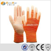 13 Gauge orange Gummi Arbeitshandschuhe