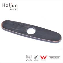 Haijun Productos 2017 Precios de Fábrica Fregadero Hole Cover Faucet Deck Plate