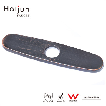 Haijun Products 2017 Factory Prices Sink Hole Cover Faucet Deck Plate