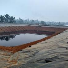 1mm dam liner black hdpe geomebrane waterproof liner