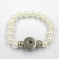 Fashion Jewelry Silicone Bangle Charms Pearl Bracelet