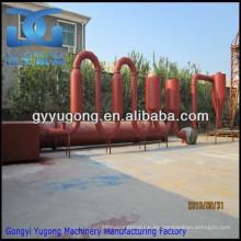 Yugong máquina de secado de tubo de flujo de aire, máquina de secado de aserrín