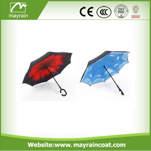 Straight Umbrella with Logo