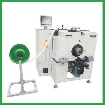 Stator slot insulation paper insertion machinery