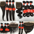 Grade 9A Brazilian Mink Hair Full Cuticle Aligned Pre Plucked 13*4 Lace Frontal