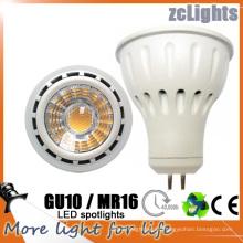 MR16 Gu5.3 lámpara del proyector LED de 12V SMD LED con ce (MR16-6W)