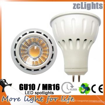 MR16 Gu5.3 Lampe LED LED 12V SMD LED avec Ce (MR16-6W)