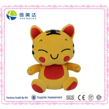 Lucky Tiger Soft Toy Custom Design Plush Doll