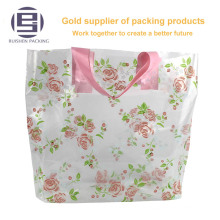 Polyester foldable roll-up printed shopping bag