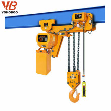 Grue à chaîne électrique de haute qualité de basse qualité de 5 tonnes