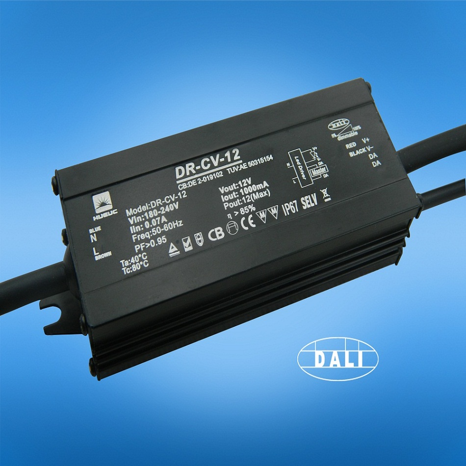 12W Outdoor Power Supply With DALI Dimming