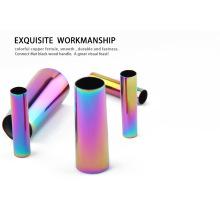 2020 Neues 7-teiliges Set aus kupferfarbenen Make-up-Pinseln