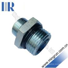 Adaptador hidráulico do tubo ajustável métrico da linha Un / un Unf (1CO)