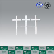 LUXES Standard Grabsteine billig Cross für Beerdigung