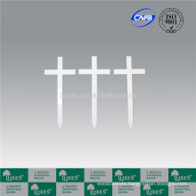 LUXES Wooden Cross For Funeral Coffin Accessories For Wholesale