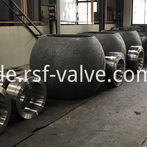 Ball Valve Part Rough Machining Body Ball