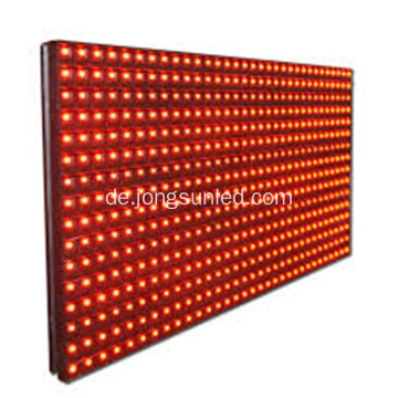 Günstige Single Red P10 LED-Modul P10 Outdoor