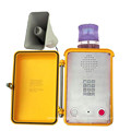 Telefone de emergência à prova de intempéries do telefone do intercomunicador do túnel IP66 com altifalante