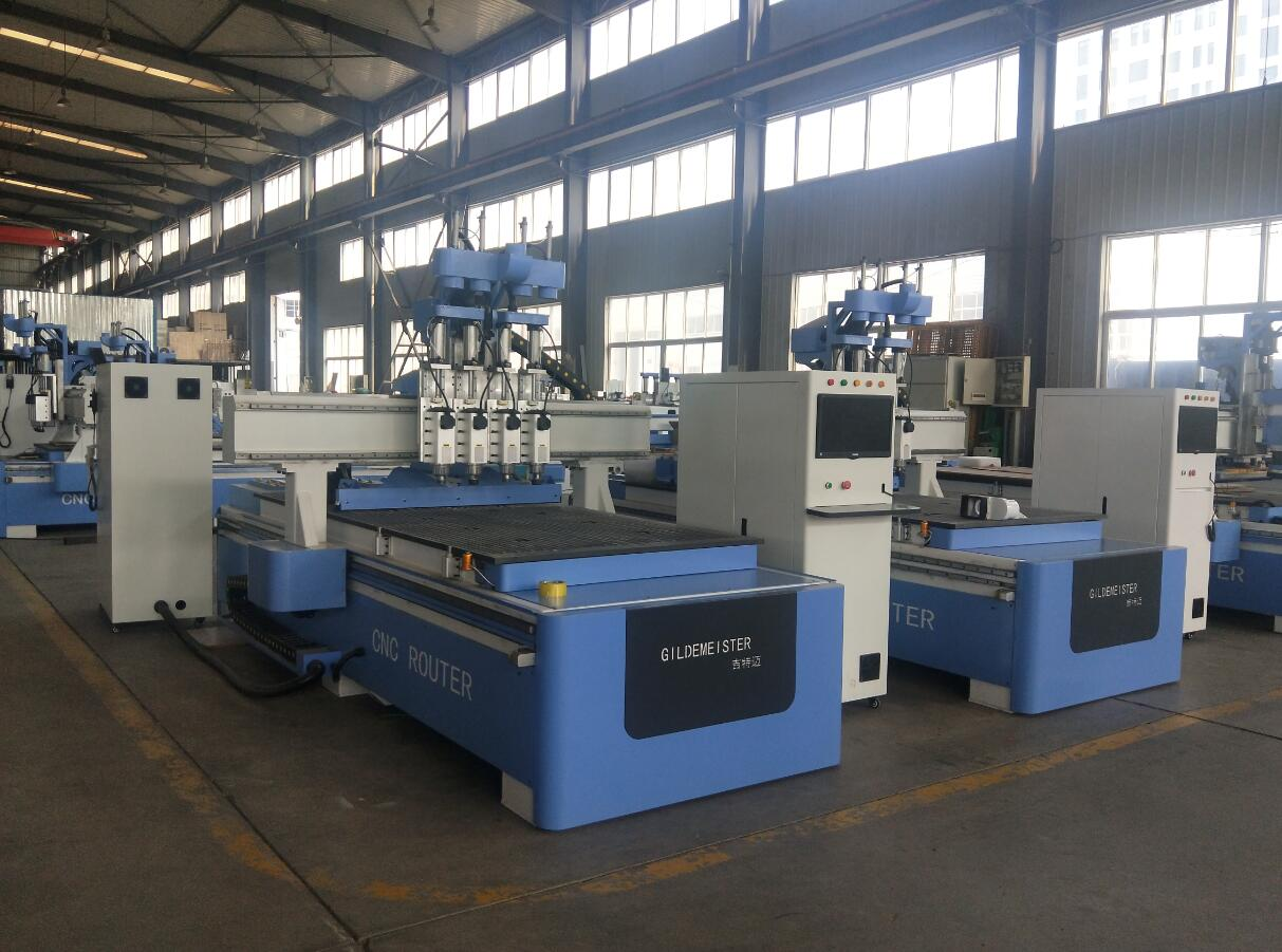 cnc router machine with atc