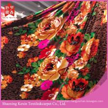 Cheap selling unique model flannel fleece fabric&blanket