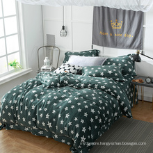 Modern Style Different Patterns Soft Touch Bedding Set Flannel