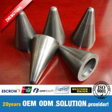 Válvula resistente a corrosão padrão e não padronizada do carboneto de tungstênio