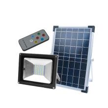 Projector de segurança solar LED de alta potência