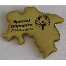 Silkscreen Print Metal Antique Badge with Epoxy (badge-200)