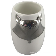 The Fox Plating Ceramic Mug for Personal Mug, Home Decoration
