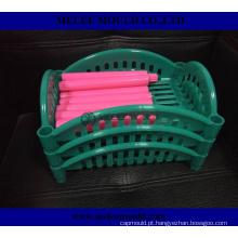 Modelagem por injeção plástica de China para o trabalho feito com ferramentas da cesta