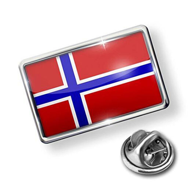 Norway Flag Lapel Badge