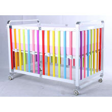 Hot sale security protection unique design baby crib