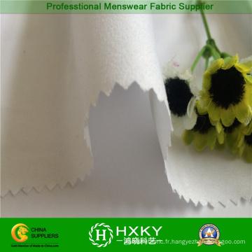 Tissu 100% de microfibre simple de polyester pour l'hiver habille le textile à la maison