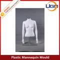 Mâchoire mannequin en plastique blanc mâle mat
