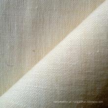 Tecido liso novo da chegada do cânhamo / lã (QF13-0140)