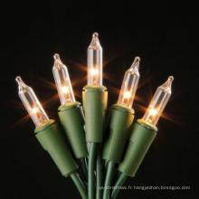 Cadeau de décoration en corde de lumière de Noël LED avec artisanat en verre (LB50.3mm. 00)