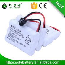 cordless phone batteries 3.6v 900mah ni-mh rechargeable battery pack