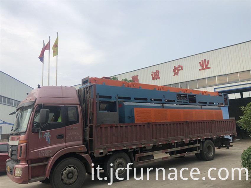 Vacuum net belt sintering furnace ready to ship