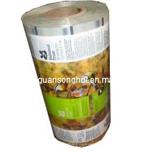 Película de rolo laminada plástica para empacotamento automático